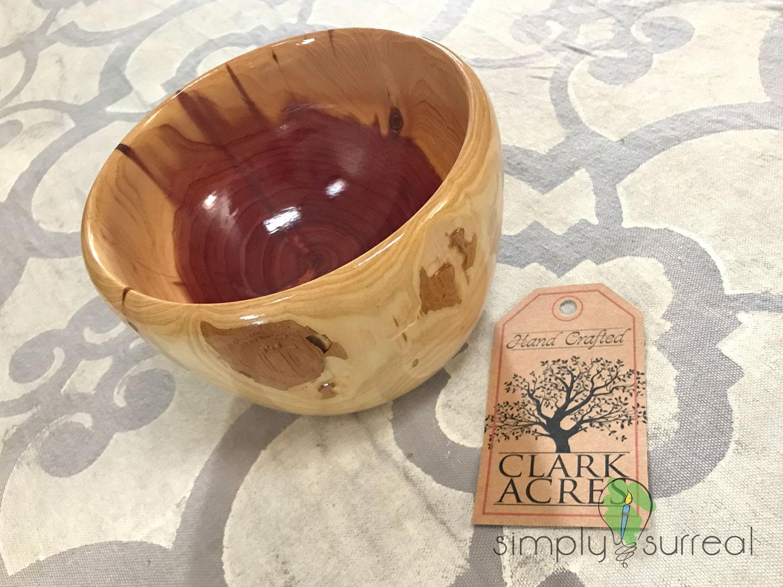 Bowl Dogwood Auction