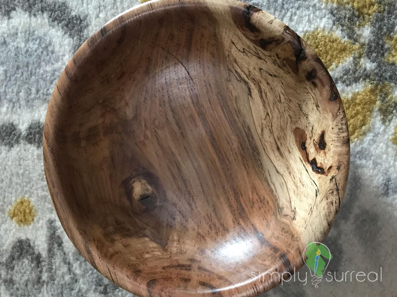 Bowl Spalted Oak 2