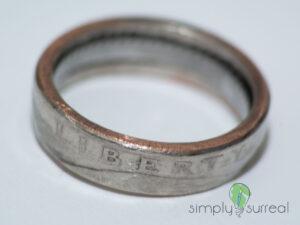 Coin Ring Liberty