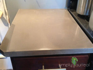 Counter Top Polished Concrete Gray 1