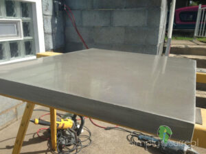 Counter Top Polished Concrete Gray 2