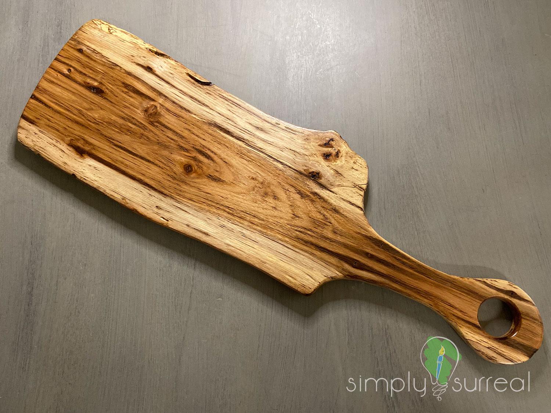 Cutting Board Spalted Oak 1