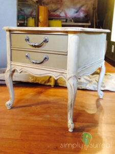 End Table 2 Toned