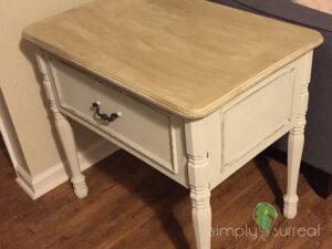 End Table Custom Built