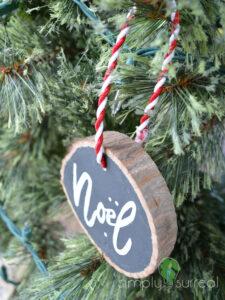 Ornament Tree Slice 2