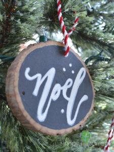 Ornament Tree Slice Noel