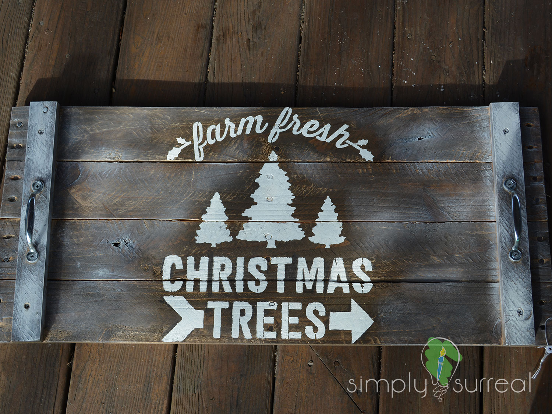 Platter Christmas Trees