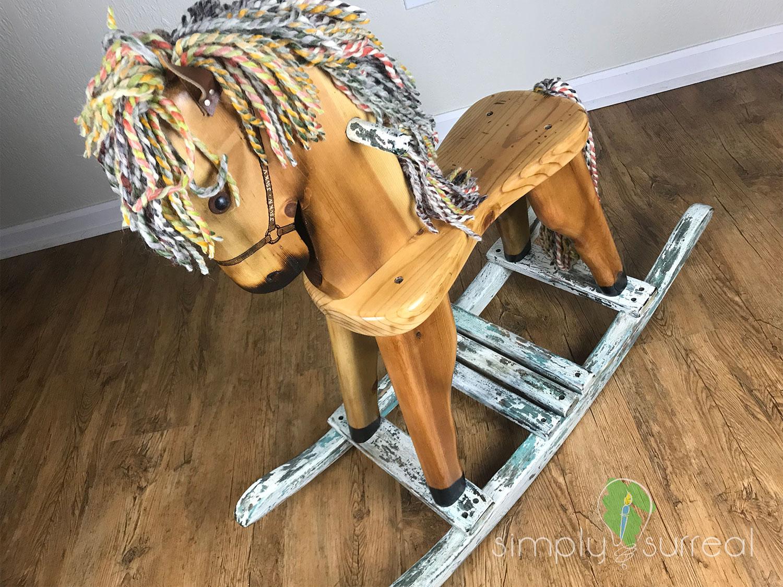Rocking Horse Refinish 1