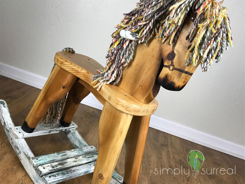 Rocking Horse Refinish 2
