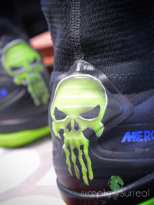 Shoes Airrushed Nike Mercurials