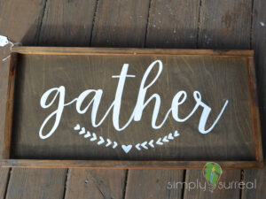Sign Gather
