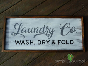 Sign Laundry Co