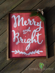 Sign Merry & Bright