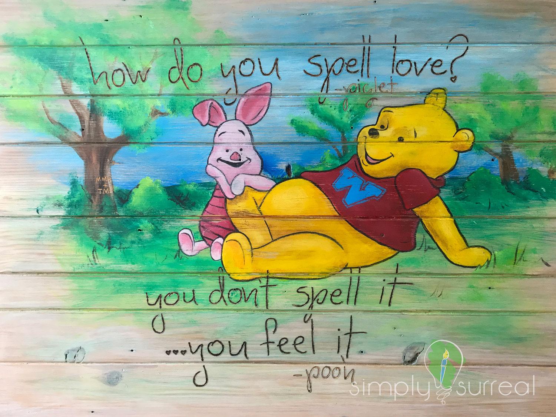 Sign Pooh Bear