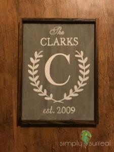 Sign The Clarks Est
