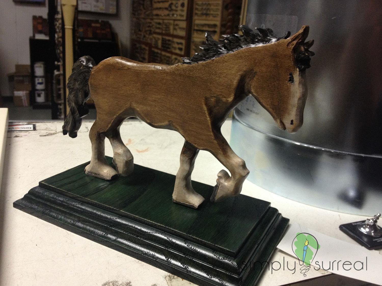 Statue Wooden Horse