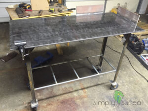 Table Metal Welding Station