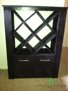 Wine Rack Custom Build